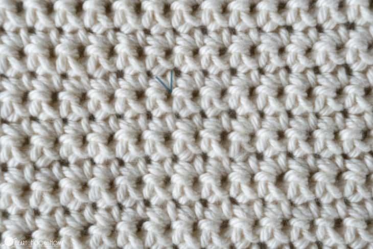 single crochet stitch