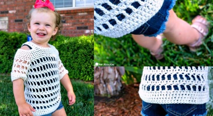 Child Cold Shoulder Coverup Pattern