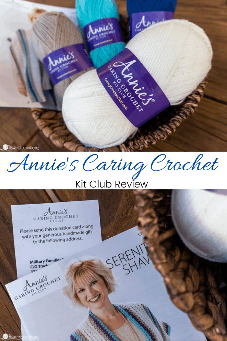 Annie's Crochet Club Kit Review