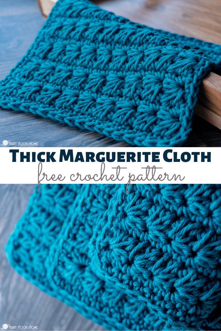Free Thick Marguerite Cloth Pattern