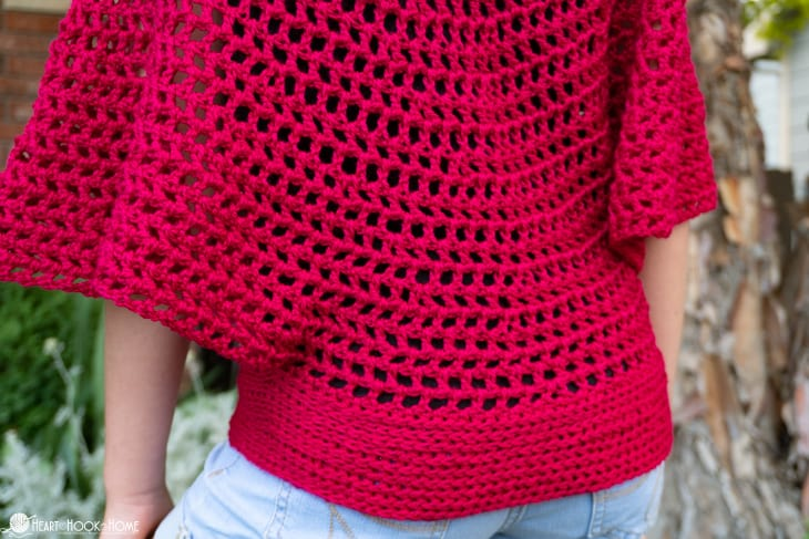 Beautiful summer top for kids free crochet pattern