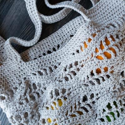 free wave market bag crochet pattern