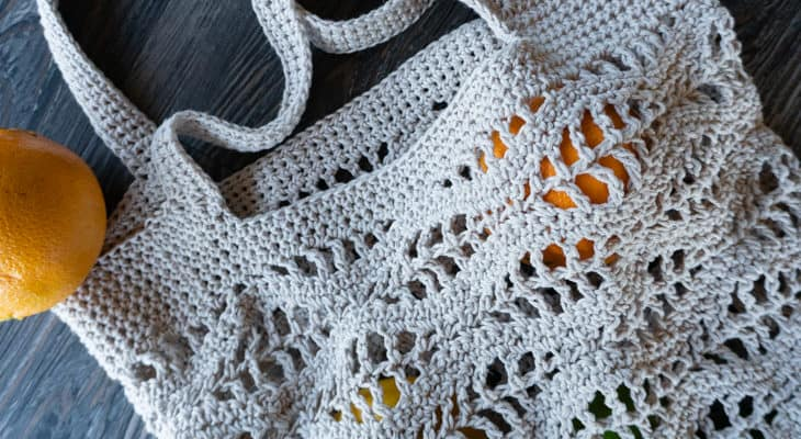 free wave market bag crochet pattern