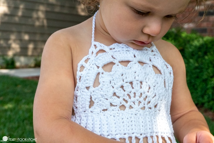 Toddler Boho Halter Top