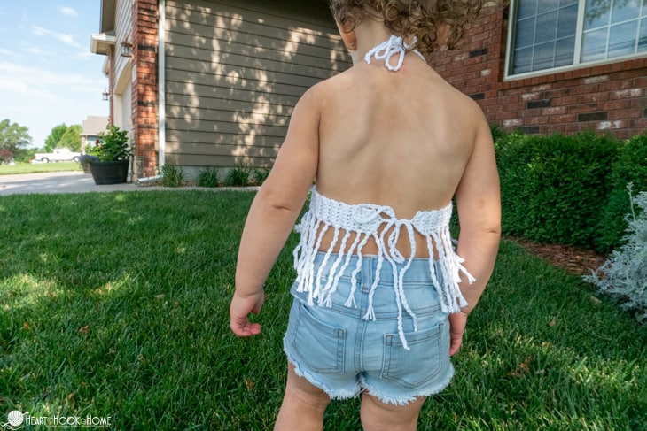 summer top for toddlers free crochet pattern