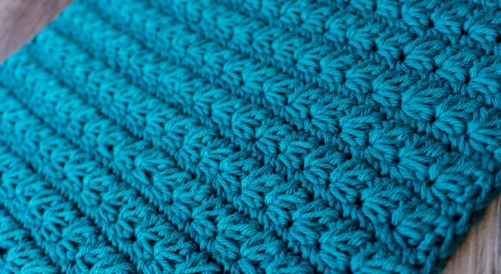 thick Marguerite crochet stitch