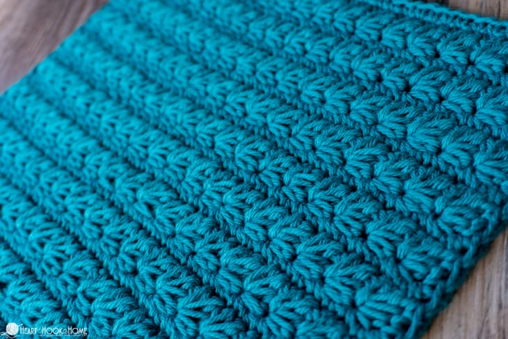 thick Marguerite crochet stitch