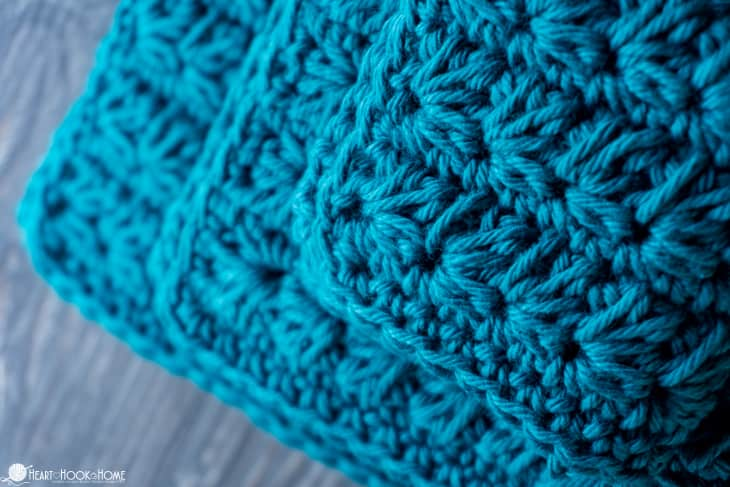 Thick Marguerite crochet cloth pattern