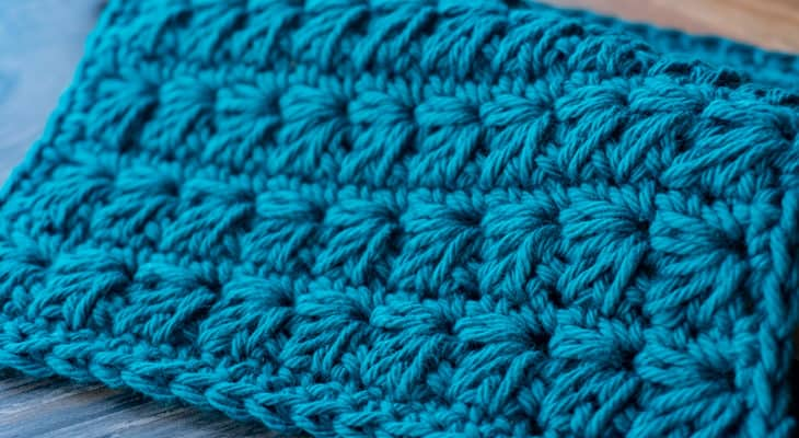 Thick Marguerite crochet cloth free crochet pattern