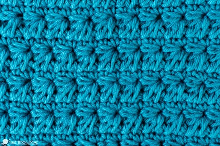 Marguerite stitch crochet tutorial