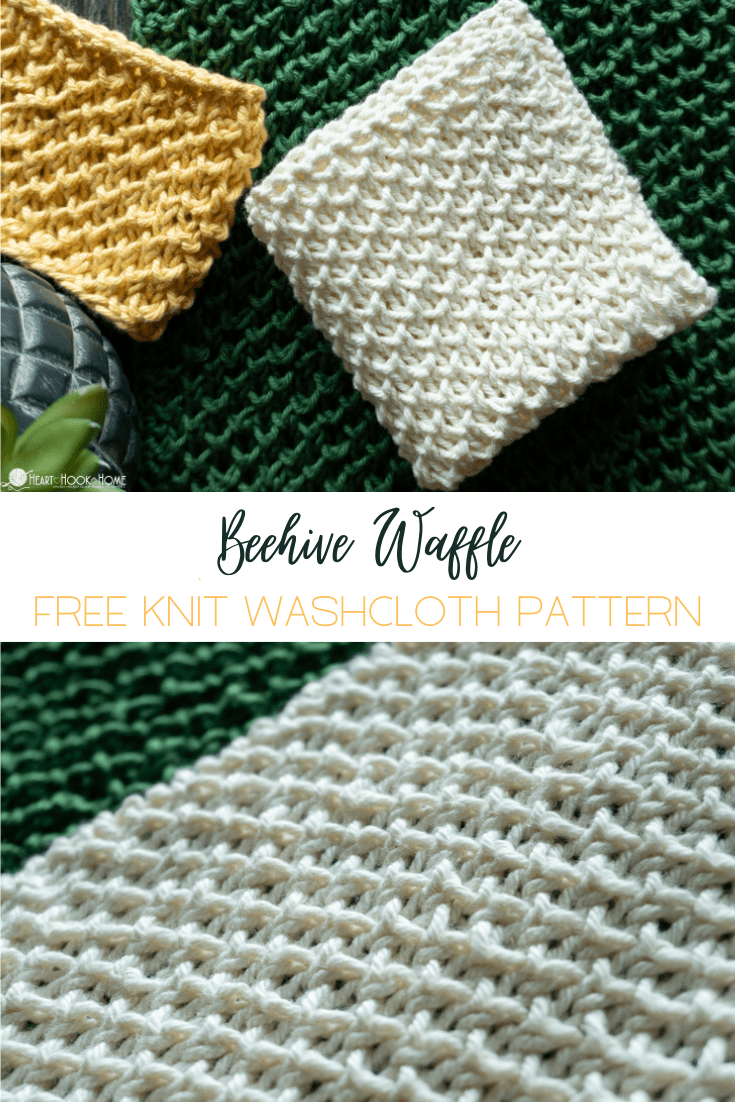 free knit washcloth pattern