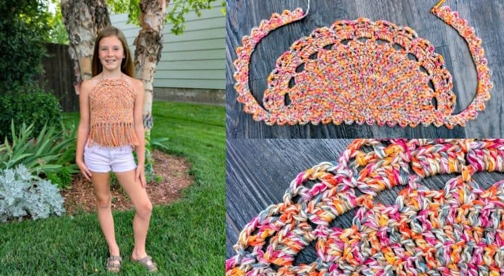 Girls Boho Top pattern