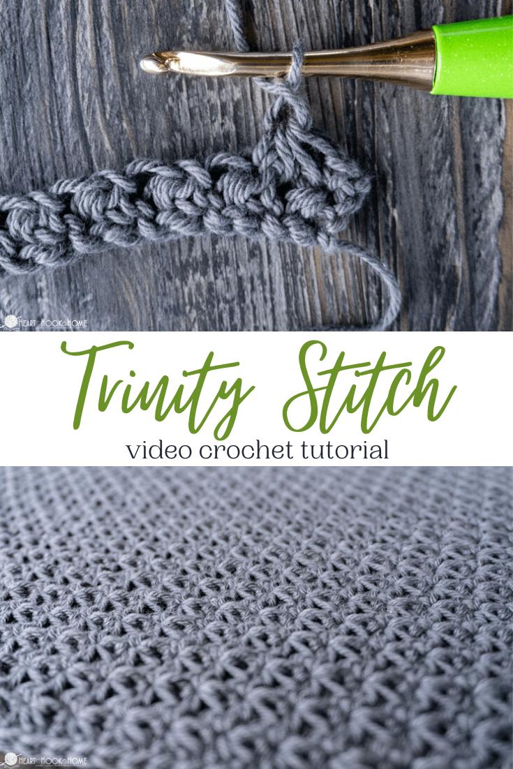 Trinity Crochet Stitch Tutorial