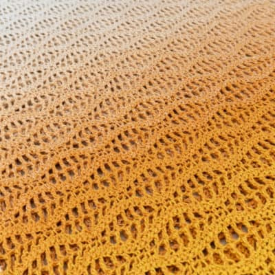 Wave Stitch crochet tutorial