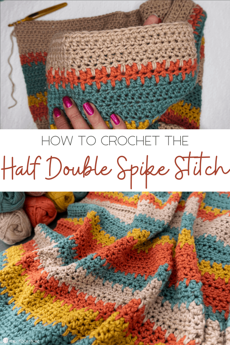 HDC Spike Stitch Tutorial
