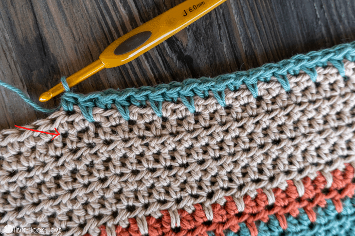 how to make spike stitch
