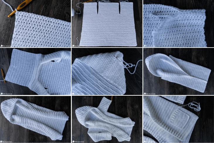 Painted Canyon Cardigan Crochet Along