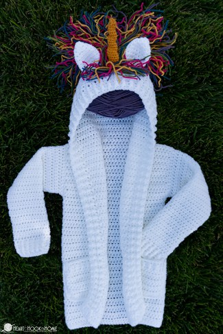 adorable cardigan crochet pattern for kids