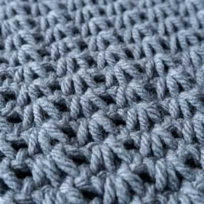 how to crochet tunisian tiny clusters