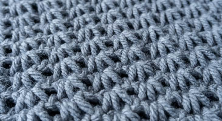 how to crochet tunisian tiny clusters