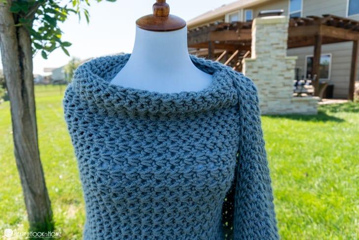 Tunisian Wrap Crochet Pattern