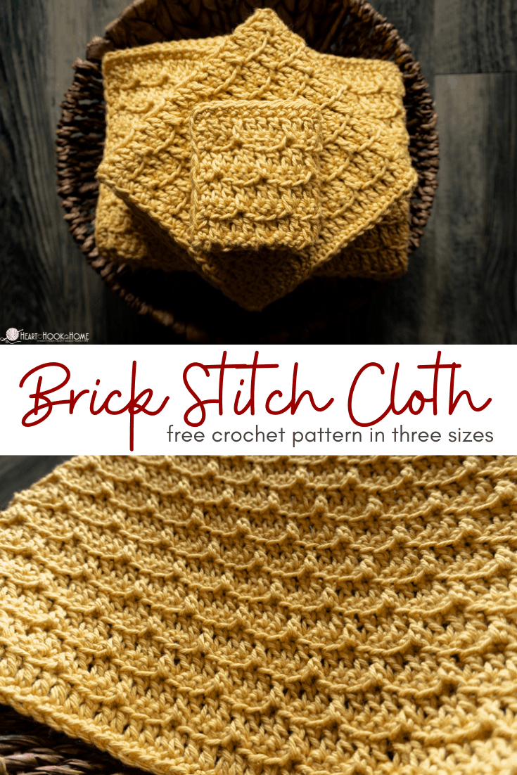 Brick stitch cloth patterns