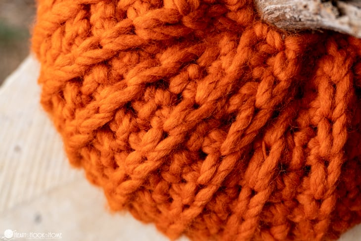Tunisian Crochet Pumpkin Pattern