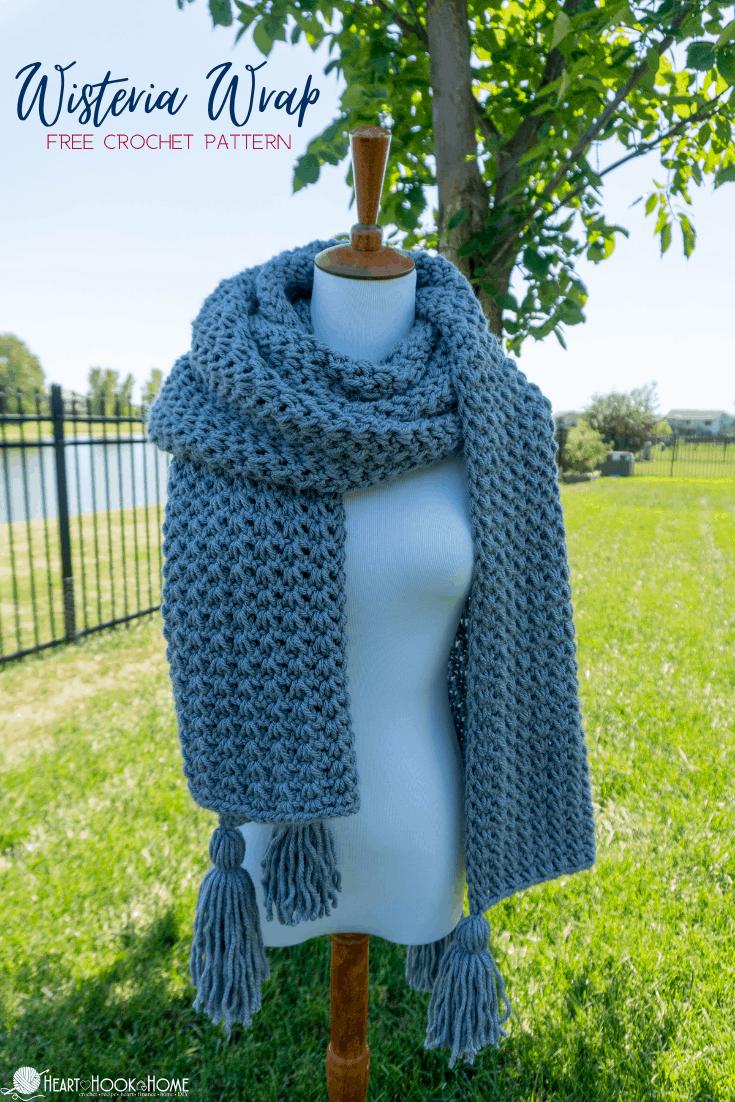Wisteria Wrap Crochet Pattern