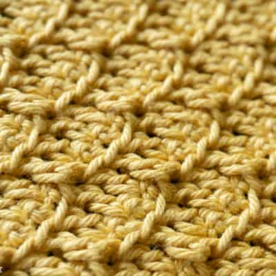 crochet brick stitch tutorial