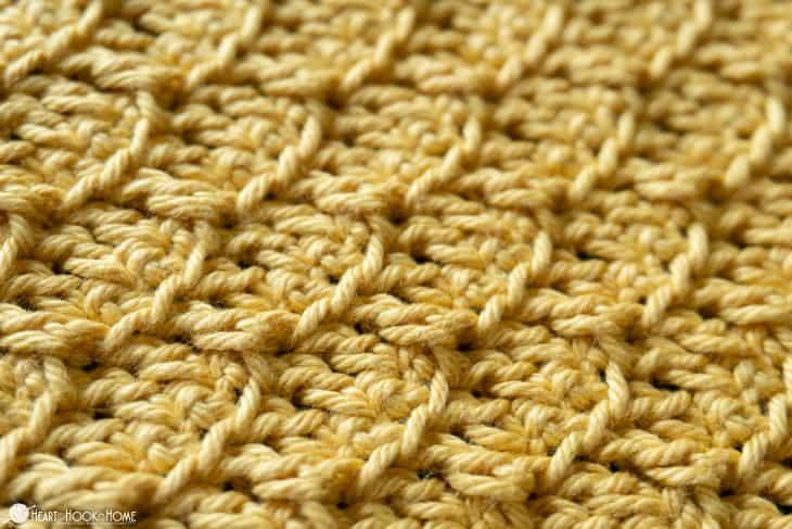 crochet brick stitch tutorial