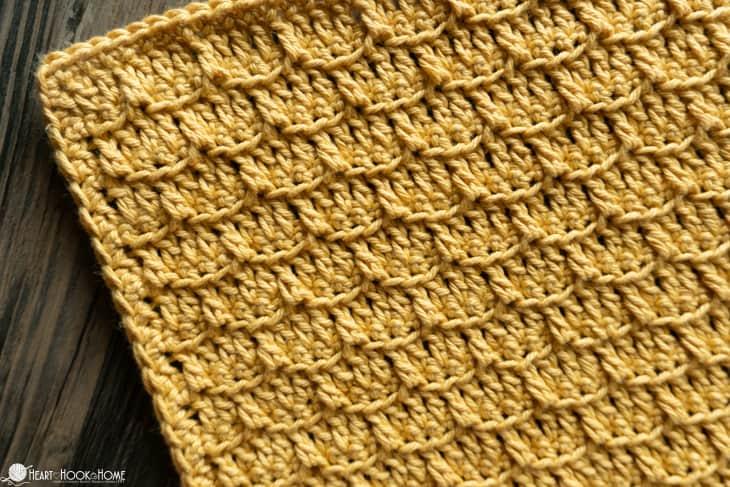 free washcloth crochet pattern