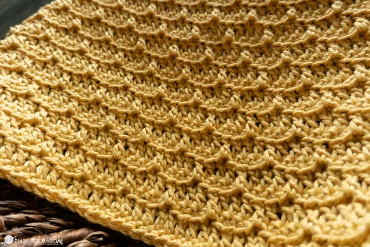 Brick stitch crochet pattern