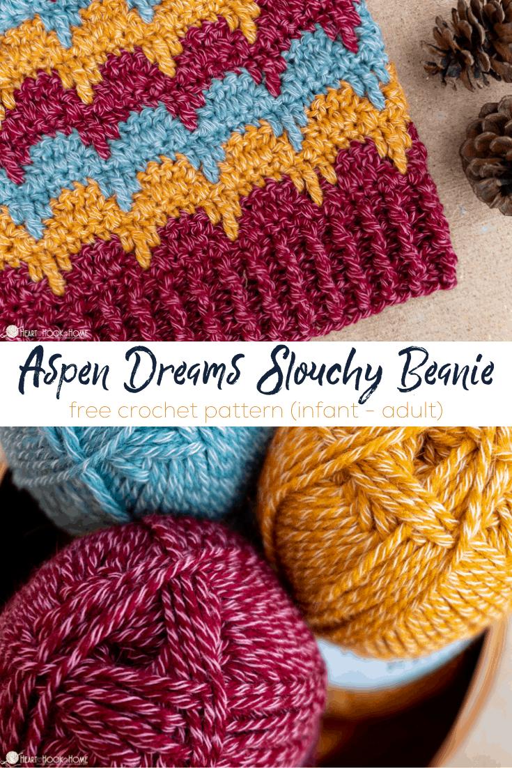 Aspen Dreams Slouchy Beanie pattern