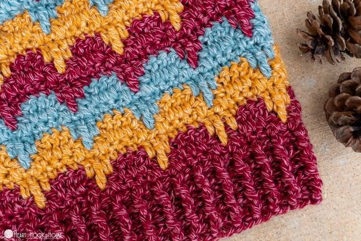 Aspen Dreams crochet beanie
