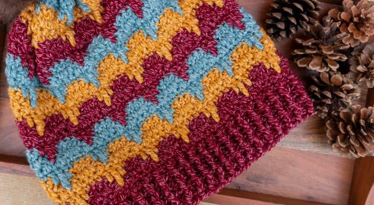 Aspen Dreams Slouchy Beanie crochet pattern