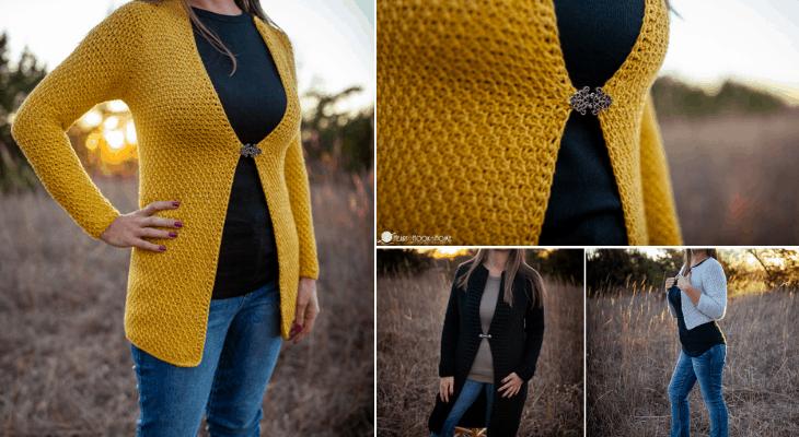 Honeycomb Cardi Crochet Pattern