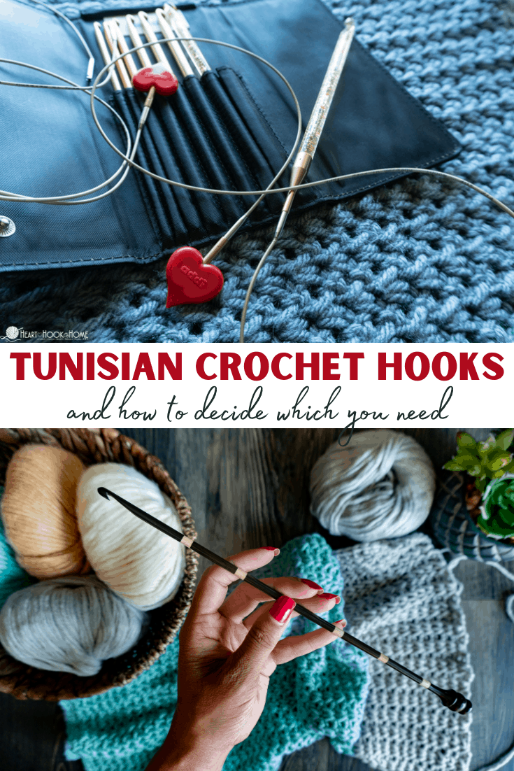 Tunisian Hook Guide