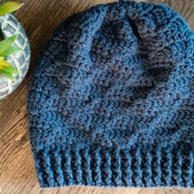 Drop to it Beanie Crochet pattern