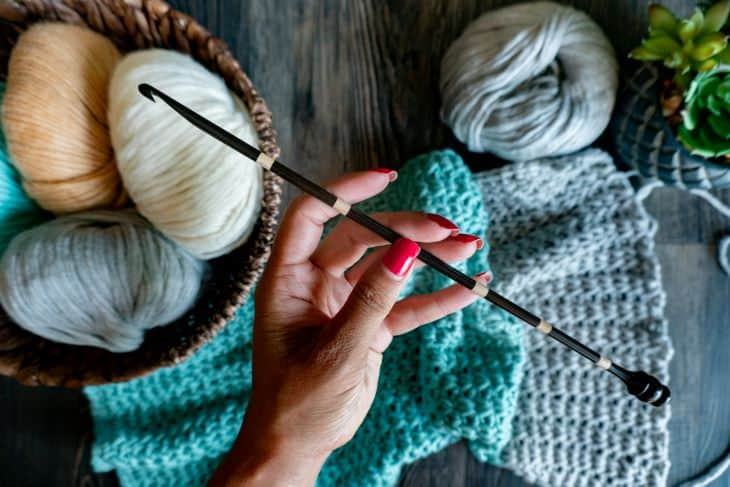 Tunisian Crochet hooks