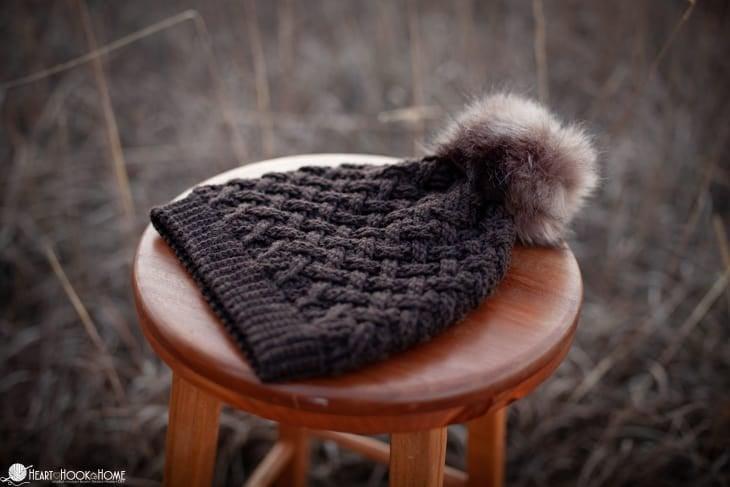 Lattice Love Beanie Crochet Pattern