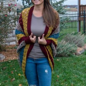Shell cocoon free crochet pattern