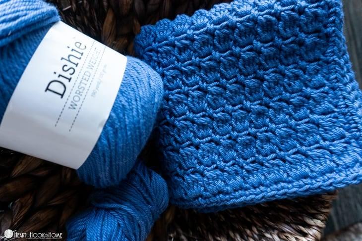 crochet washcloth video tutorial