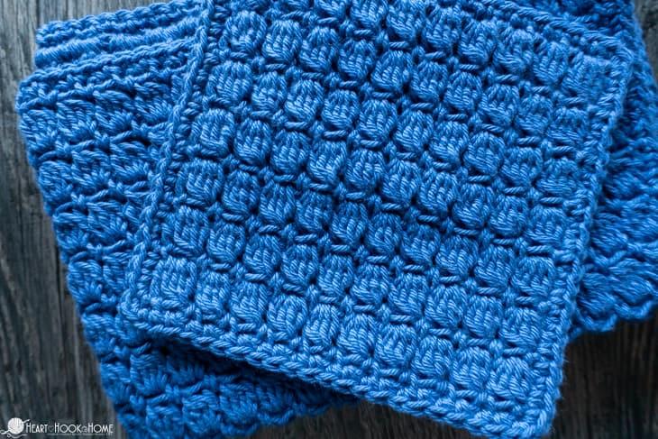 easy washcloth crochet pattern