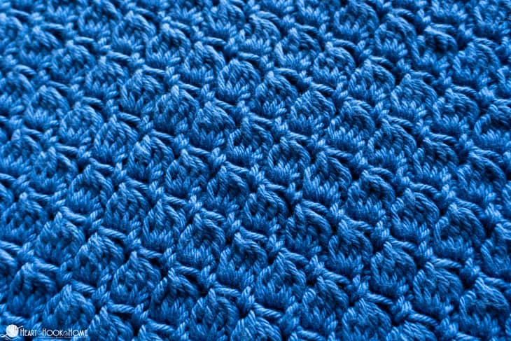Aligned Clusters Crochet Stitch Tutorial