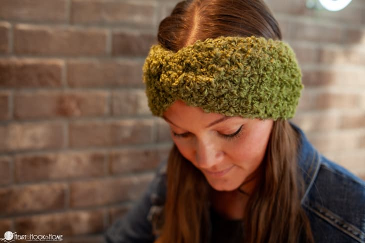 Twisted Head Band easiest crochet pattern