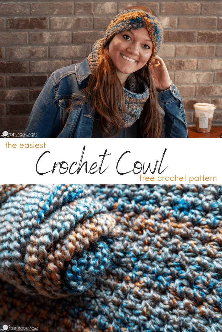 Easiest Crochet Cowl pattern