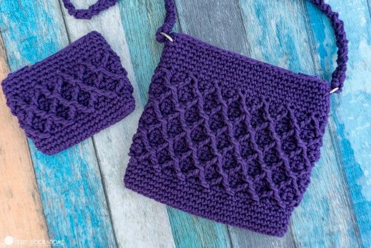 child size purse free crochet pattern