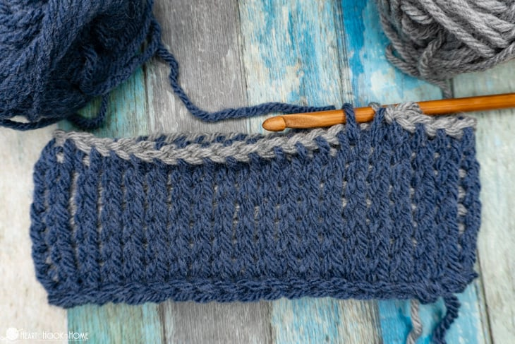 free tunisian in the round crochet pattern