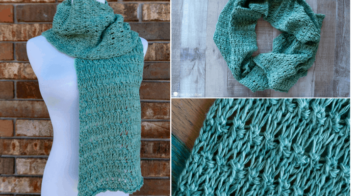 Spring Fling Knitlings Scarf pattern