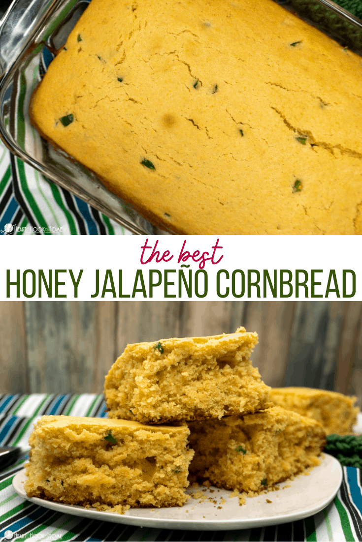Honey Jalapeno Cornbread recipe